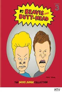 Beavis and Butthead, created by Mike Judge