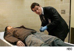 Dominic West as Jimmy McNulty on 'The Wire.'