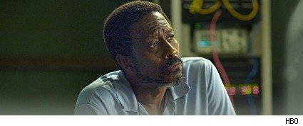 Clarke Peters as Det. Lester Freamon in The Wire.