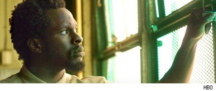 Gbenga Akinnagbe as Chris Partlow on 'The Wire.'