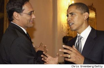 Jimmy Smits/Barack Obama