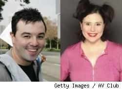 Seth MacFarlane and Alex Borstein