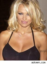 Pamela Anderson is taking it off. Okay, so that's not anything new.