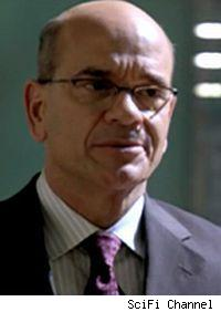 Robert Picardo's Richard Woolsey assumes command of Atlantis in the fifth season