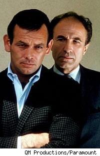 David Janssen, Barry Morse