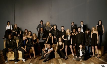 The cast of American Idol