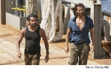 Naveen Andrews and Henry Ian Cusick