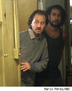 Fisher Stevens and Naveen Andrews