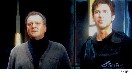 David Hewlett and Joe Flanigan - Stargate Atlantis