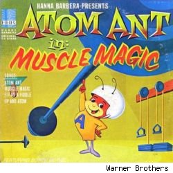 Along with Secret Squirrel, Atom Ant premiered on Saturday mornings in 1965