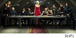 Battlestar Galactica is one of the many shows returning to TV this spring