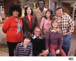 The cast of Hello Larry (including Meadowlark Lemon)