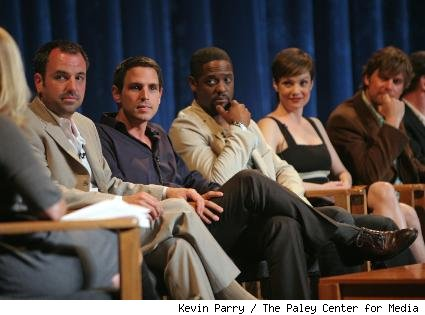 Craig Wright, Greg Berlanti, Blair Underwood, Zoe McLellan and Peter Krause
