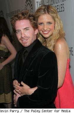 Seth Green and Sarah Michelle Gellar