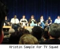 L-R Blair Underwood, Zoe McLellan, Peter Krause, Billy Baldwin, Natalie Zea, Glenn Fitzgerald