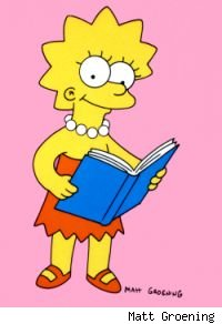 Lisa Simpson -- Addicted to Second-Hand Smoke