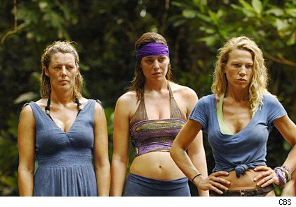 Ladies from Survivor Micronesia
