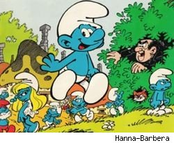 The Smurfs killing someone softly with their song? According to Todd Ciolek, yes.