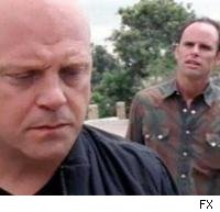 Michael Chiklis and Walton Goggins