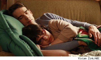 Christopher Gorham and America Ferrera