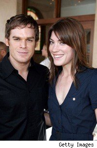 Michael C. Hall and Jennifer Carpenter of Dexter