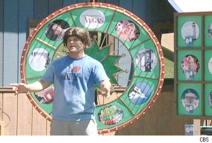 Ryan during the luxury comp on Big Brother 9