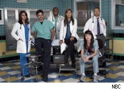 The Season 14 cast of ER