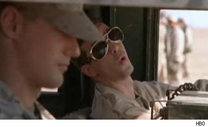 Alexander Skarsg�rd and James Ransone in 'Generation Kill.'