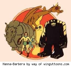 The Herculoids -- Just one of 11 cartoon series to premiere in 1967