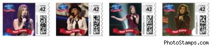 american idol stamps