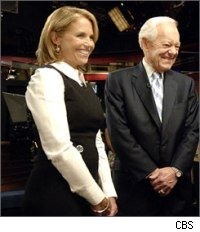 Katie Couric and Bob Schieffer