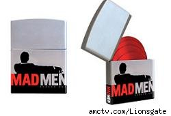 Mad Men lighter DVD case