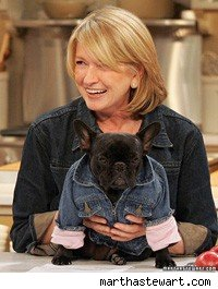 Martha and dog