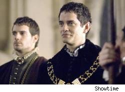 Thomas Cromwell is played by James Frain.