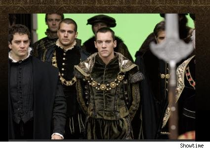 James Frain, Henry Cavill and Jonathan Rhys Meyers
