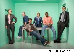 The cast of Psych...now on NBC