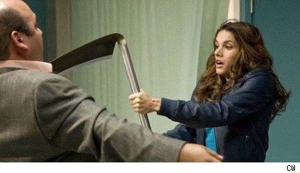 Missy Peregrym and Ian Gomez - Reaper