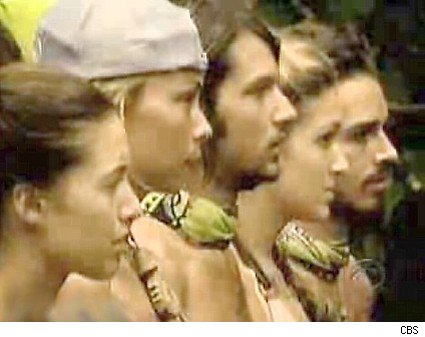 The castawys are looking a bit tired on Survivor Micronesia