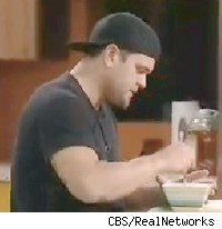 Ryan eats in the Big Brother 9 house