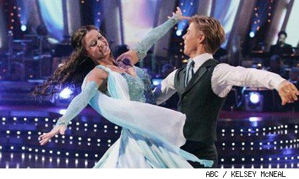 Shannon Elizabeth and Derek Hough - Dancing With The Stars