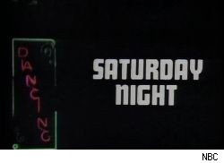 An early opening of Saturday Night Live.