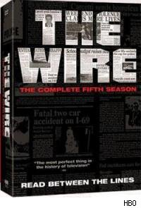 The Wire - Season 5 DVD