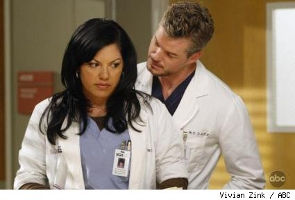 Sara Ramirez and Eric Dane
