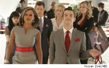 Vanessa Williams and Michael Urie