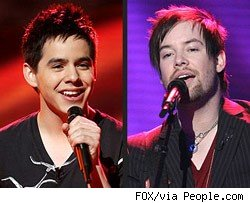 david archuleta; david cook; american idol