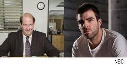 Kevin Malone and Sylar