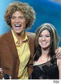 kelly clarkson; justin guarini