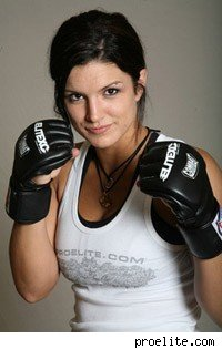 Gina Carano of American Gladiators and EliteXC