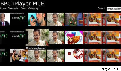 iPlayer MCE