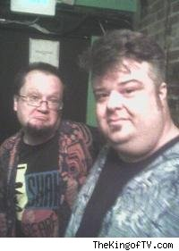 Robbie Rist and Paul Goebel (years ago)